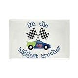 biggest brother race Rectangle Magnet