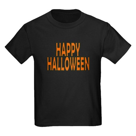 Happy Halloween Kids Dark T-Shirt