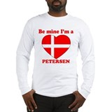Petersen, Valentine's Day Long Sleeve T-Shirt