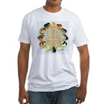 Time For Poultry2 Fitted T-Shirt
