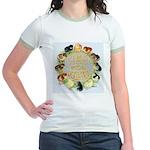 Time For Poultry2 Jr. Ringer T-Shirt