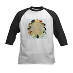 Time For Poultry2 Kids Baseball Jersey