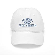 Authentic Great Grandpa Baseball Cap