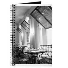 Parisian Cafe Journal b/w