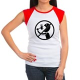 vegetarian, don't eat me, cow, womens shirt