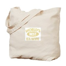 Worlds Best EX-WIFE Tote Bag