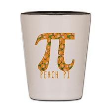 PI Peach Pi Shot Glass