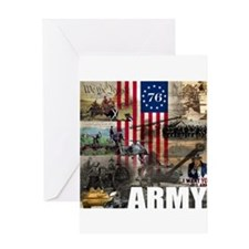 ARMY 1776 Greeting Card
