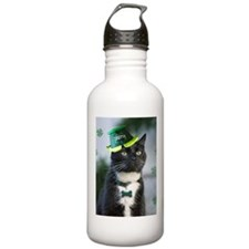 St. Patrick kitty Water Bottle