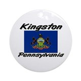 Kingston Pennsylvania Ornament (Round)