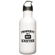 Property of a Hot Knit Water Bottle