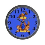 Daddy Dog Clock