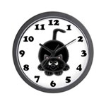 Black Cat Clock