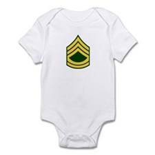 "Army E7 ""Class A's"" Infant Bodysuit"