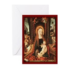 The Madonna & Child Christmas Cards (Pk of 20)