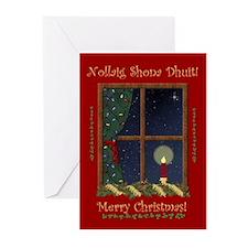 Lighting the Way Home Christmas Cards (Pk of 20)