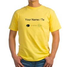 Custom Hockey Puck Flying T-Shirt