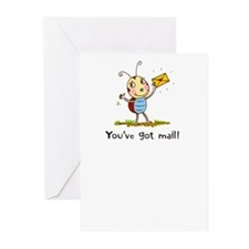 Ladybug Mail Greeting Cards (Pk of 20)