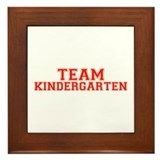 Team Kindergarten Framed Tile