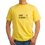 'Cancer:0 My Grandpa:1' Yellow T-Shirt