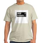 'Cancer:0 My Grandpa:1' Light T-Shirt