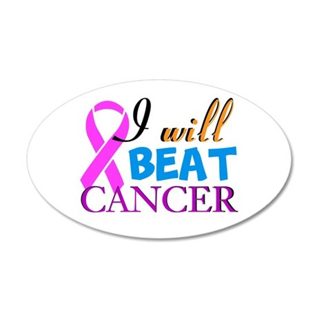 Beat Cancer Wall Decal