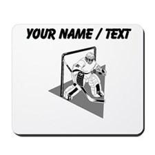 Custom Hockey Goalie Mousepad