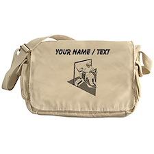 Custom Hockey Goalie Messenger Bag