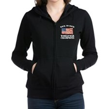 Back to Back World War Champion Women's Zip Hoodie