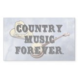 Country Music Forever Decal