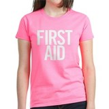 First Aid (white) Tee