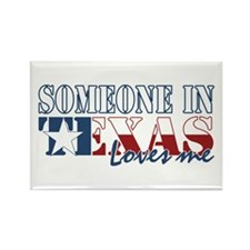 Someone in Texas Rectangle Magnet (10 pack)