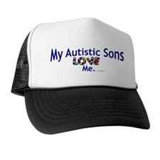 My Autistic Sons Love Me Trucker Hat