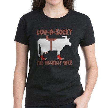 Cow-A-Socky Women's Dark T-Shirt