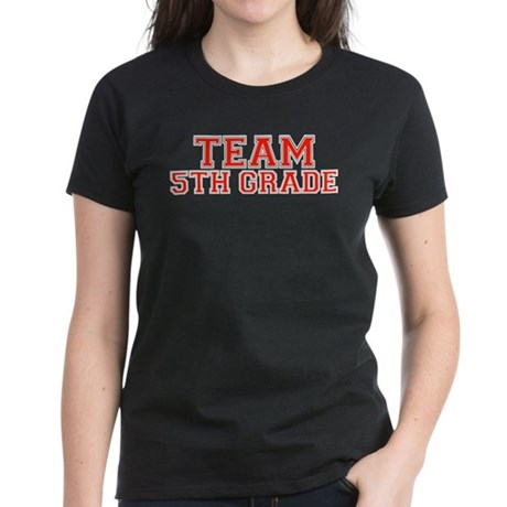 Team 5th Grade Women's Dark T-Shirt