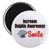 "Increase Dolphin Awareness 2.25"" Magnet (100 pack)"