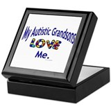 My Autistic Grandsons Love Me Keepsake Box
