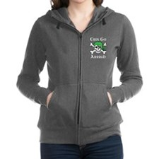Irish Pirate - Erin Go Arrrgh Women's Zip Hoodie