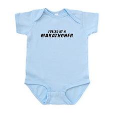 Fueled By A Marathoner Infant Bodysuit
