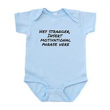 Motivational Phrase Mom Infant Bodysuit
