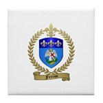 FERRON Family Crest Tile Coaster