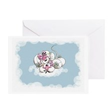 Little Mouse Cloud 9 Greeting Card