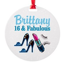 16 AND FABULOUS Ornament