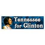 Tennessee for Clinton Bumper Sticker