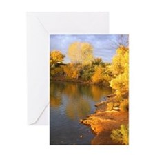 Serene Autumn Thanksgiving Card