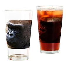 Gorillas Drinking Glass