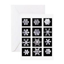 Snowflake Grid Holiday Card