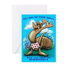 Cool Dillo Greeting Cards (Pk of 20)