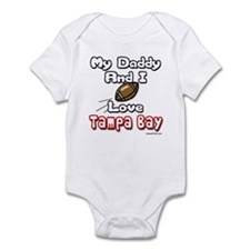 My Daddy And I love Tampa Bay Infant Bodysuit