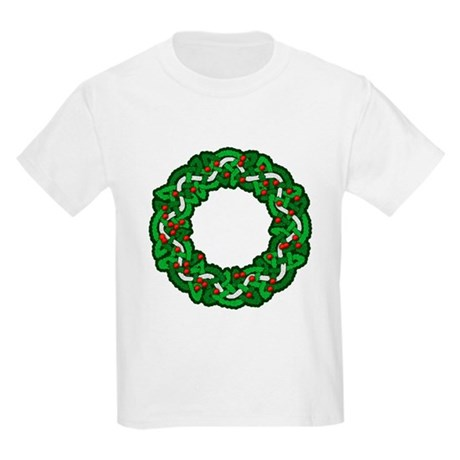 Celtic Wreath Kids Light T-Shirt